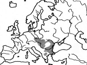 Area of S. citellus distribution (according to Görner & Hackethal 1987)